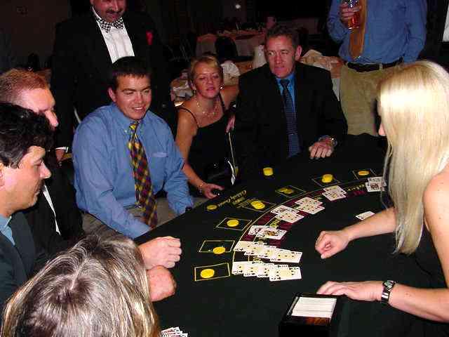 Al Gingel, Rob Stone, Dave Harrold, Robs Mrs, Gary Lamb